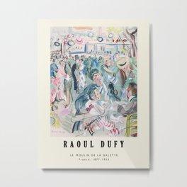 Poster-Raoul Dufy-Le Moulin de la Galette . Metal Print