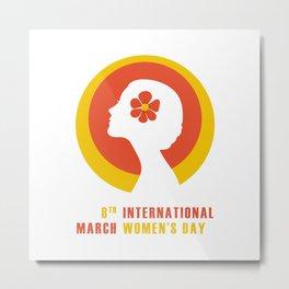 International Women's Day Metal Print