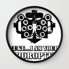 Optician Eye Doctor Dr Optometrist Phoropter Funny Gift Wall Clock