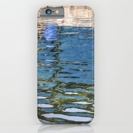 Reflecting Blues iPhone Case