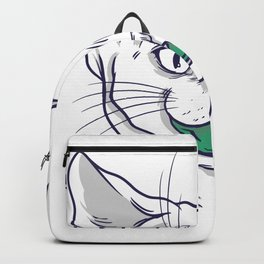 Cat Mouthguard Backpack