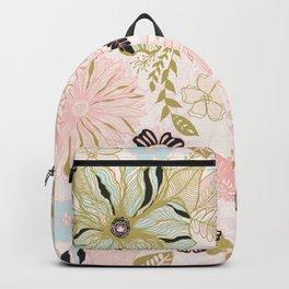 Saige Green Elephant Backpack