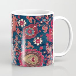 Garahgozloo Hamadan West Persian Rug Fragment Coffee Mug