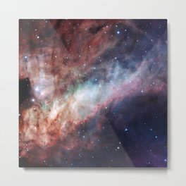Astrophotography, The Omega Nebula Metal Print