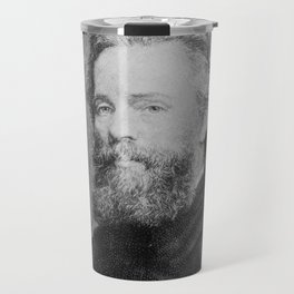 Joseph Oriel Eaton -portrait of Herman Melville Travel Mug