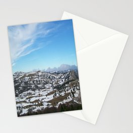 When the snow is melting Stationery Cards