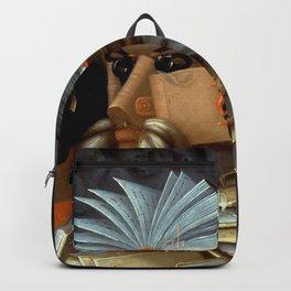 "Giuseppe Arcimboldo ""The librarian"" Backpack"