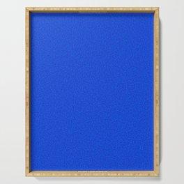 Rough Texture - Plain Royal Blue Serving Tray