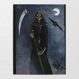 Tarot card Death XIII Poster
