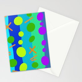 Party Time / Blue Stationery Cards