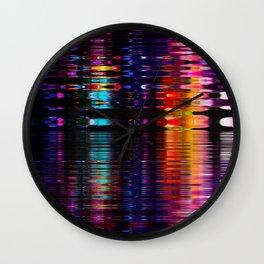 relfection b Wall Clock