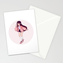 casual d.va Stationery Cards