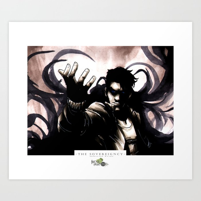 Dark Rising Art Print