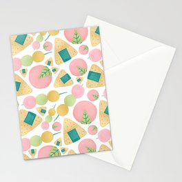 Japanese Snacks Stationery Cards