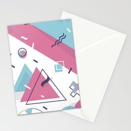 Memphis Style Stationery Cards