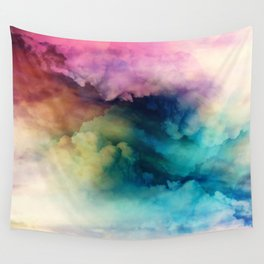 Rainbow Dreams Wall Tapestry
