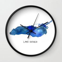 Lake Ontario Wall Clock