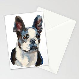 french bull dog   Stationery Cards