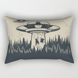 Unidentified Feline Object Rectangular Pillow