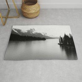 Maligne Lake | Landscape Photography | Alberta | Canada Rug