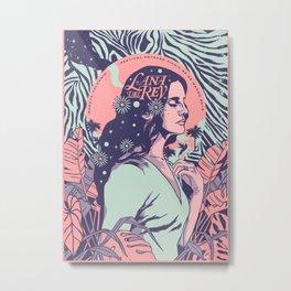 Lana Music Poster Art Print02 Metal Print