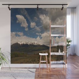 Dramatic Sky Over Twin Lakes Colorado Wall Mural