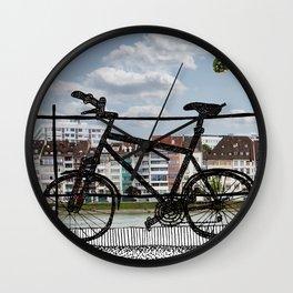 Bike Pastiche  Wall Clock