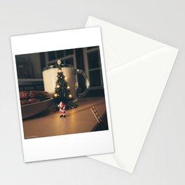 Bribing Santa Stationery Cards