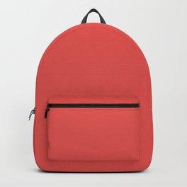 VALENTINE RED solid color Backpack