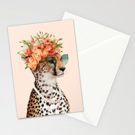 ROYAL CHEETAH Stationery Cards