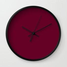 Color wine Wall Clock