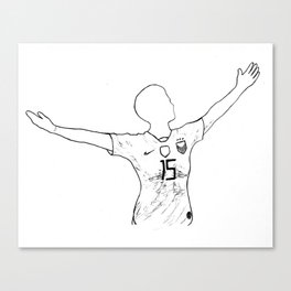 Megan Rapinoe: I Won't Apologize Canvas Print
