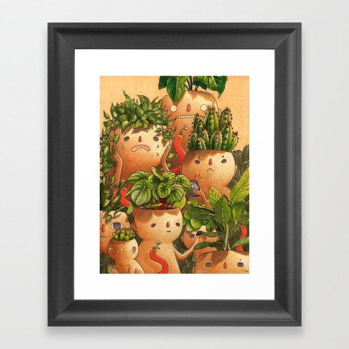 Plant-minded Gerahmter Kunstdruck