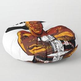 MIKE TYSON By La Brea Floor Pillow