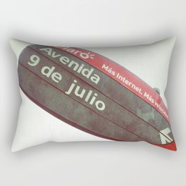 9 de Julio Rectangular Pillow