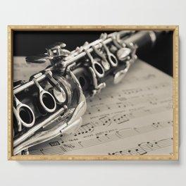 Clarinet Serving Tray