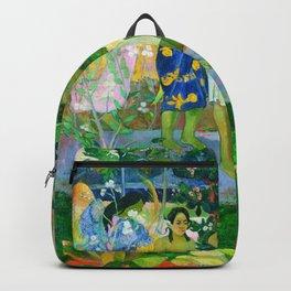 Hail Mary (Ia Orana Maria) (1891) by Paul Gauguin Backpack
