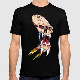 Jet-pack Skull T-shirt