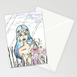 Freaky Flower girl Stationery Cards