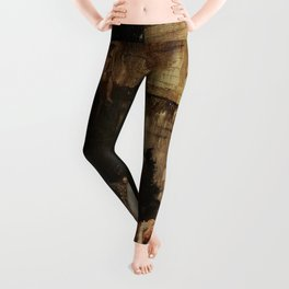 Gustave Moreau - Diomede devoured by his horses Leggings