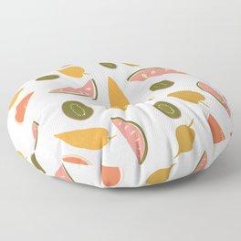 Summer Fruit  Floor Pillow