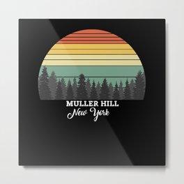 Muller Hill New York Metal Print