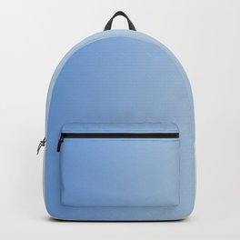 gradient square_blue + cream Backpack