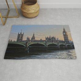 London Town ,cityscape,skyline ,UK,Great Britain,England decor  Rug