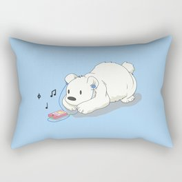 Polar Beats Rectangular Pillow