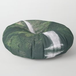 Multnomah Falls III Floor Pillow