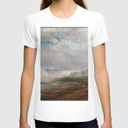 Johan Christian Dahl - The Elbe On A Foggy Morning - Digital Remastered Edition T-shirt