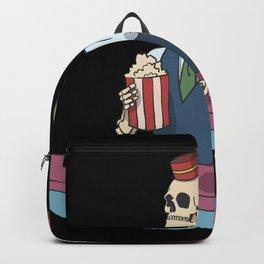 Skeleton snack bar cinema Backpack