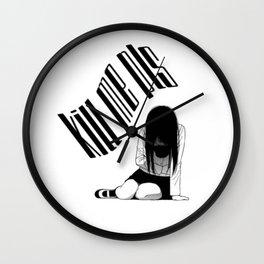 Kill me pls... ANIME sad. Wall Clock