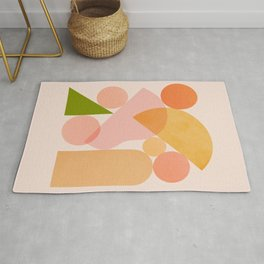 Abstraction_SHAPES_COLOR_Minimalism_002 Rug